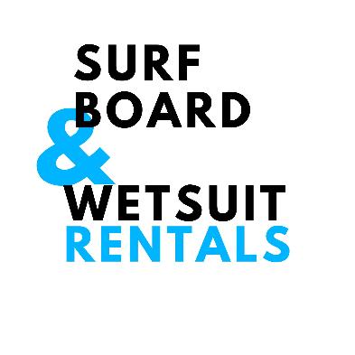 2D Surfboard & Wetsuit Rentals design