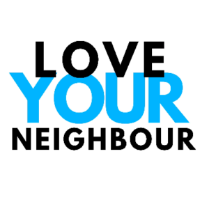 This is a 2D design with the words Love Your Neighbour. This is our group lesson surf package we offer for 6 or more people. Great for team building.